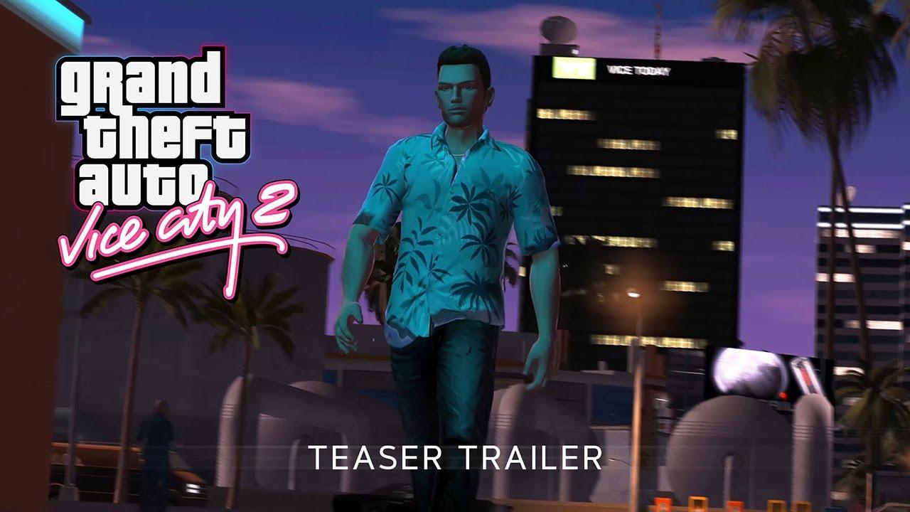 Новый трейлер фанатского проекта GTA: Vice City 2