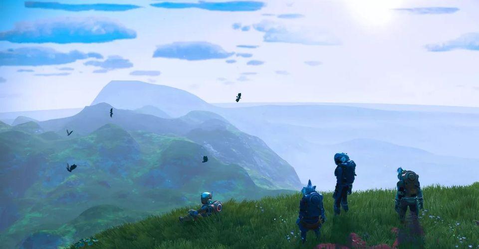 32 игрока No Man's Sky встретились на одной планете