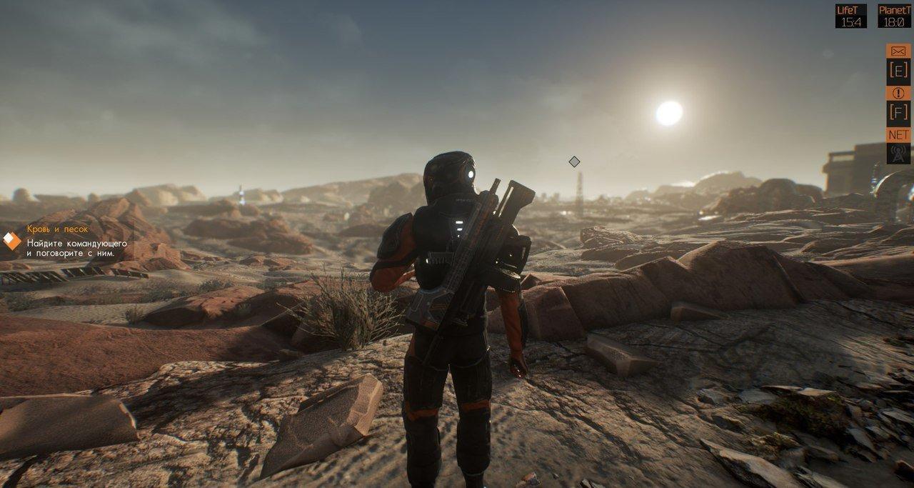 Для научно-фантастической игры Orange Cast от русских разработчиков вышел бесплатный пролог
