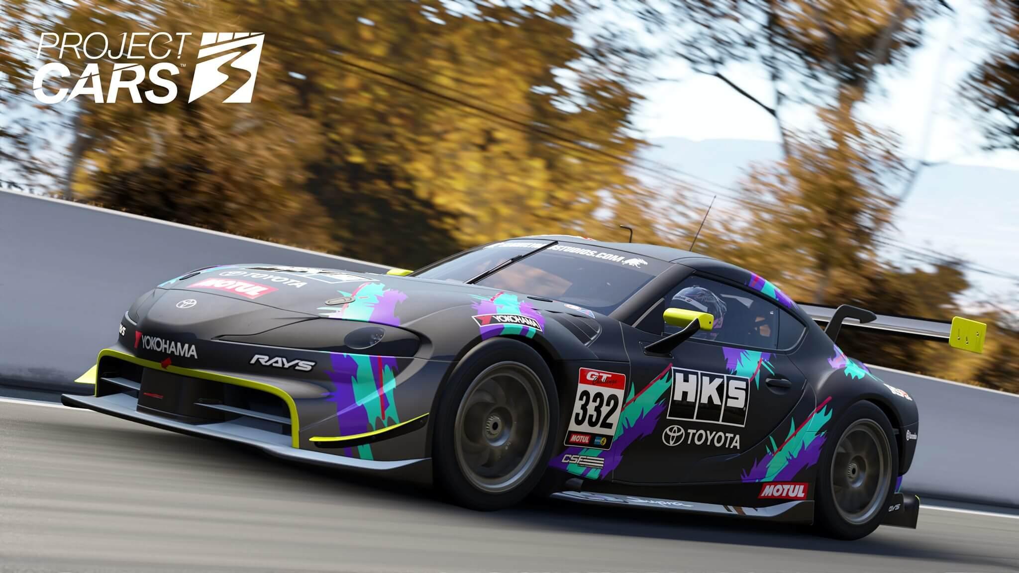 Патч #3 для Project CARS 3 добавляет новый бесплатный трек, настраивает физику, улучшает графический интерфейс