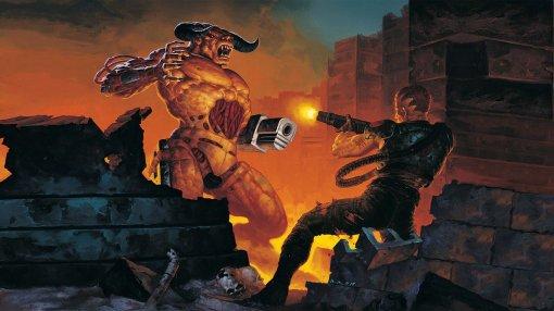 Разработчик Doom 2 провел тур посвоему дому, который воссоздал вигре