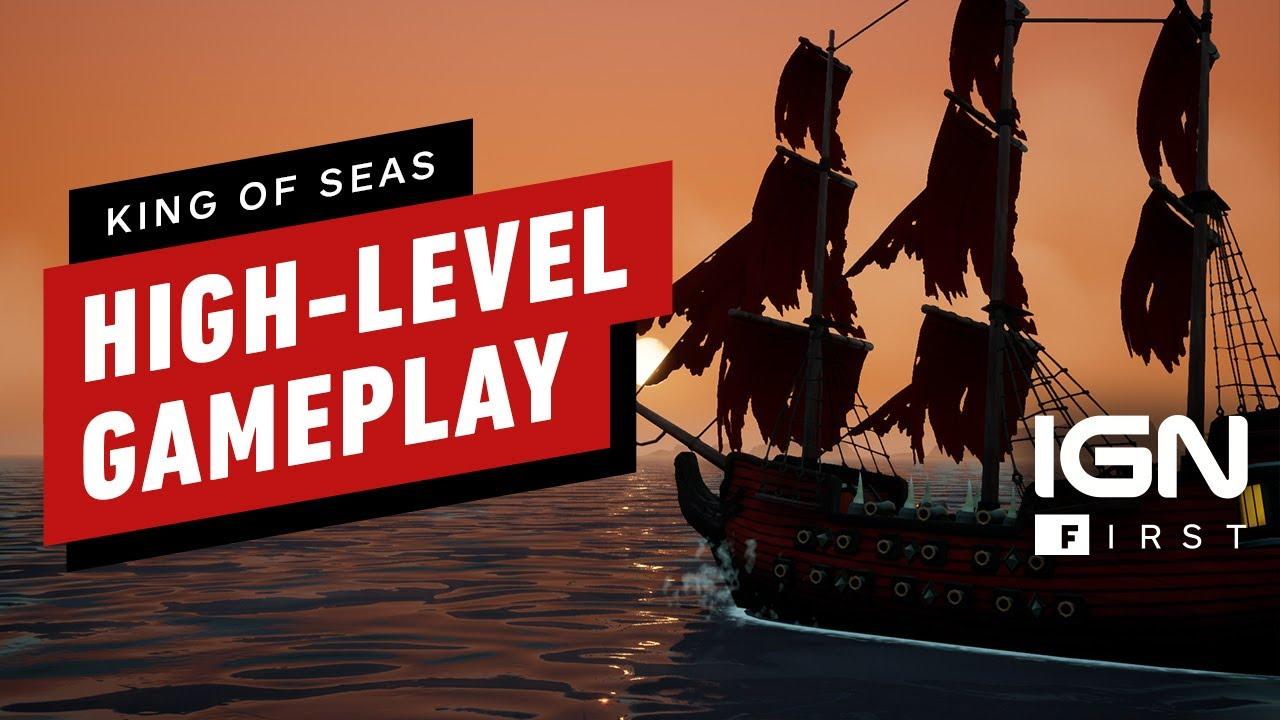15 минут игрового процесса King of Seas