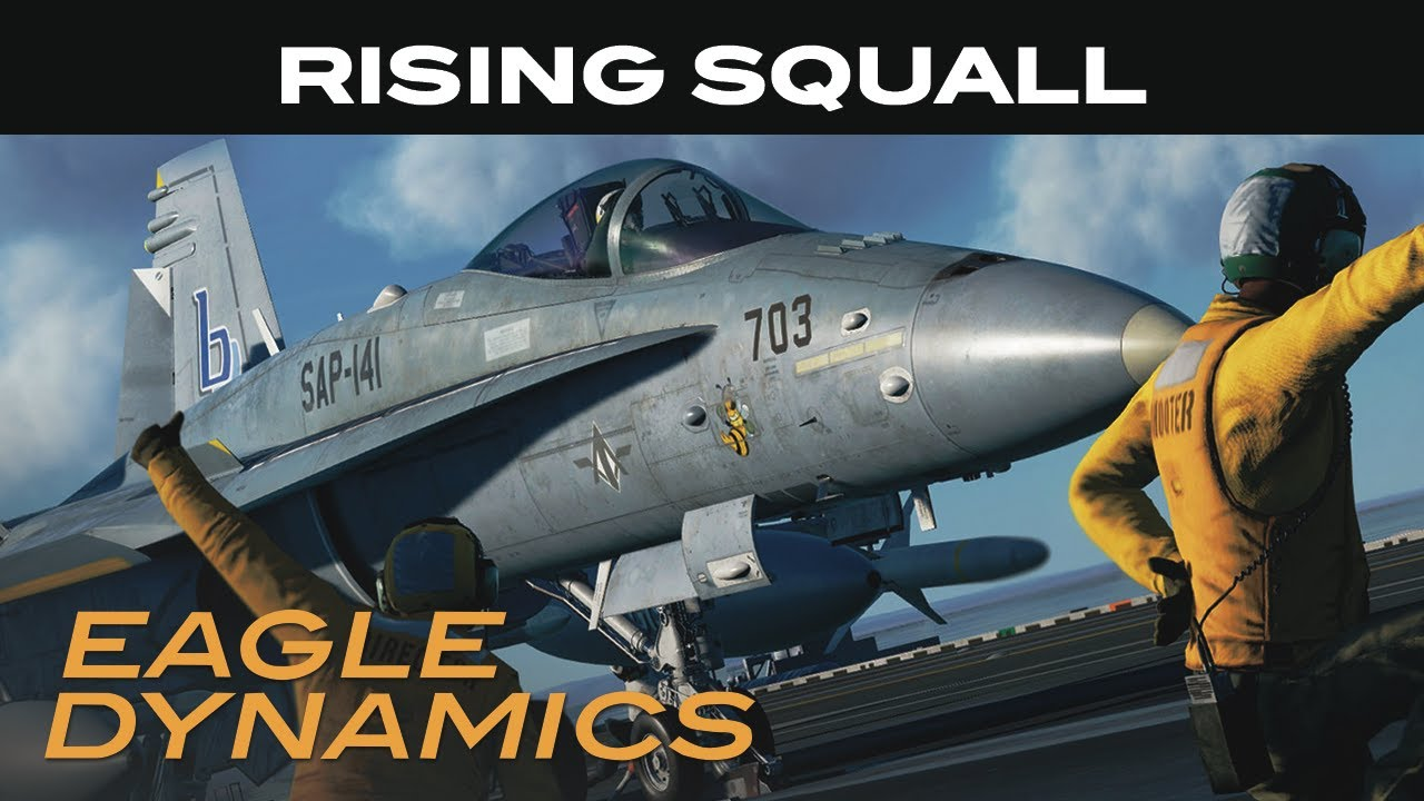 Кампания Rising Squall для DCS World - это, по сути, Ace Combat (с тем же композитором)