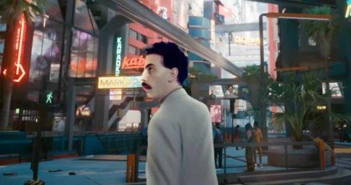 Кочевник, дитя улиц, журналист. Фанатское видео поместило Бората в Cyberpunk 2077