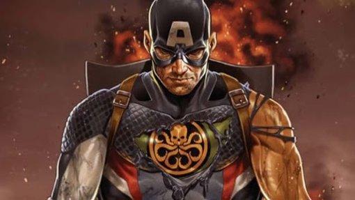 Художник показал, какбы Крис Эванс выглядел вроли Капитана Гидры изMarvel