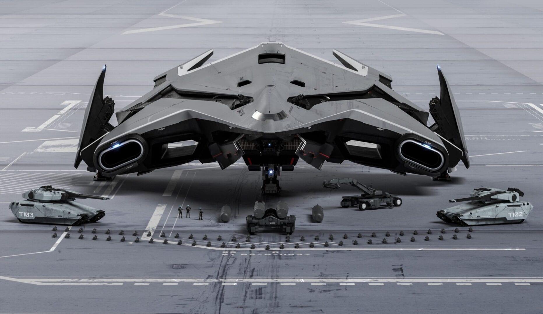 Видео Star Citizen демонстрируют Hercules Starlifter, динамические события и многое другое