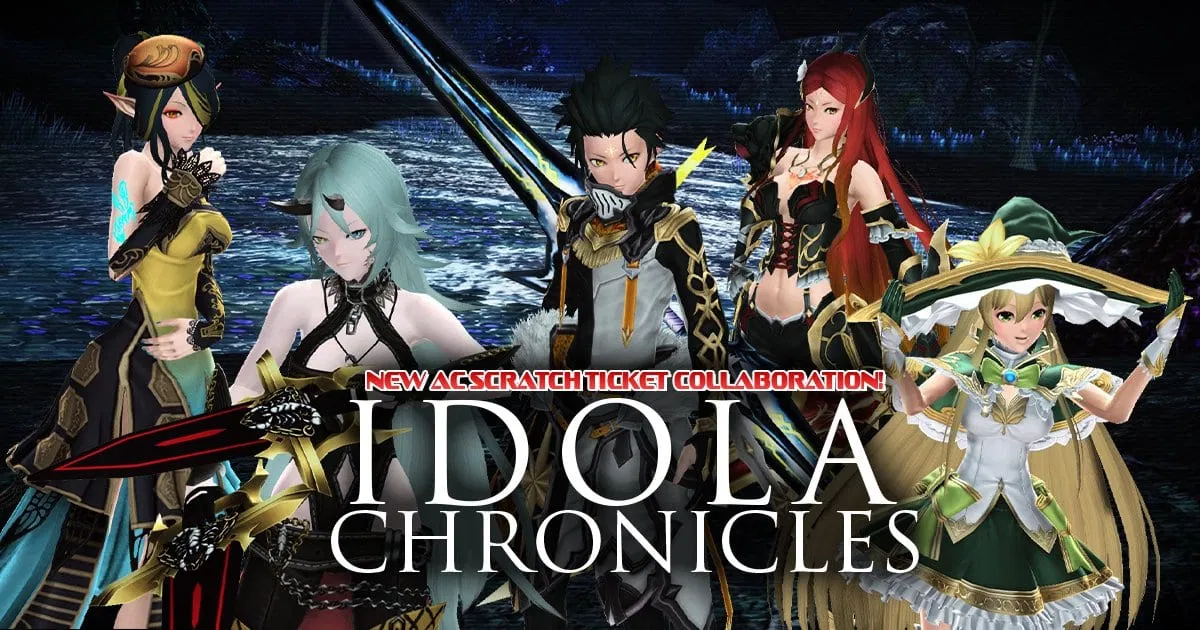 Phantasy Star Online 2 представляет новую коллекцию Idola Chronicles
