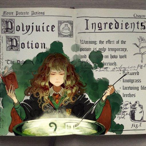 Художник нарисовал очень красивые иллюстрации по книгам о Гарри Поттере