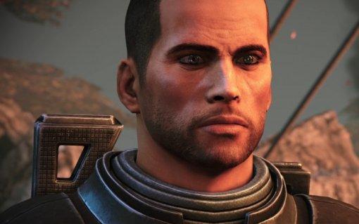 BioWare показала изменение внешности капитана Шепарда изоригинала иремастера Mass Effect