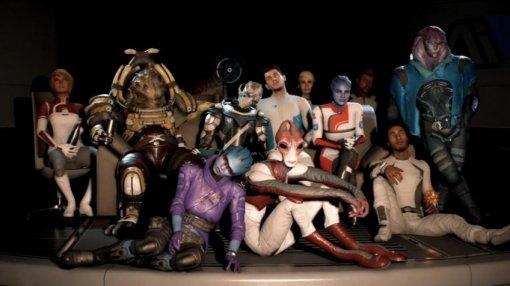 В Mass Effect Andromeda должно было быть 10 новых рас. Их сократили из-за косплееров и бюджета