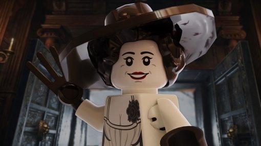Resident Evil: художник показал вампиршу Леди Димитреску ввиде LEGO