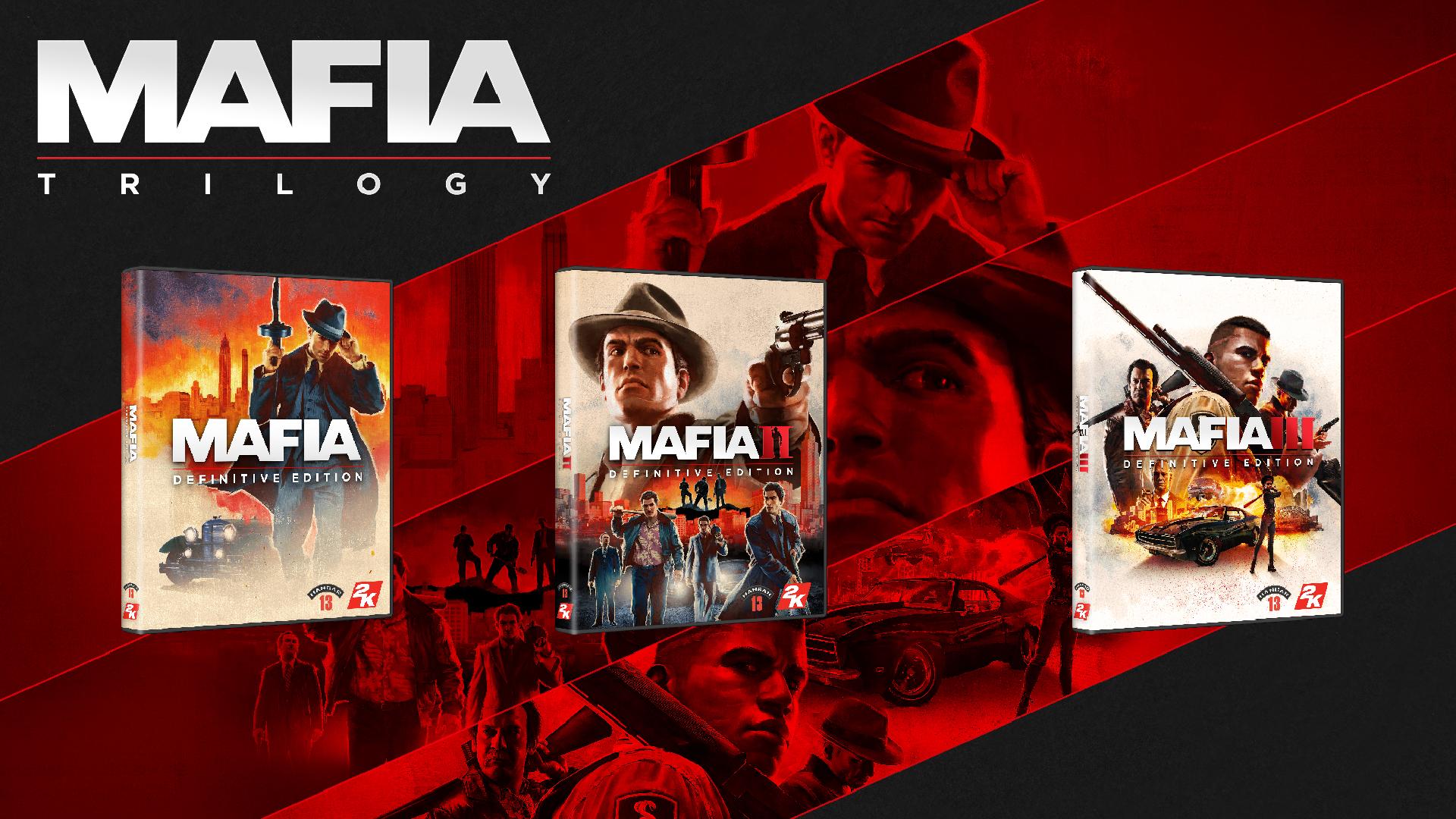 Трилогию переизданий Mafia можно приобрести за 750 рублей для Steam / EGS на выбор