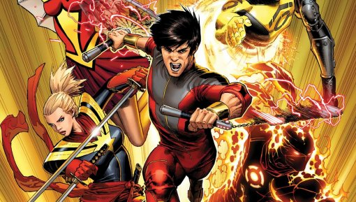 Появился первый взгляд накостюм Шан-Чи— азиатского супергероя изкиновселенной Marvel