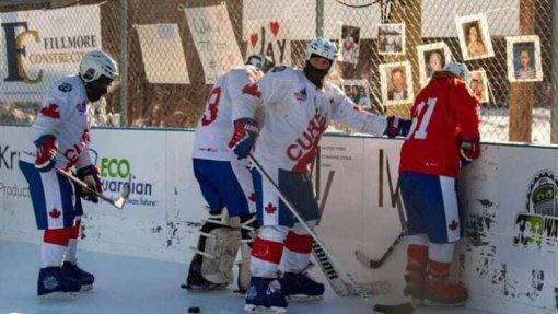 В Канаде закончился самый длинный хоккейный матч в истории. Счет 2649:2528