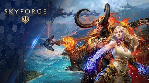 Условно-бесплатная MMORPG Skyforge вышла на Nintendo Switch