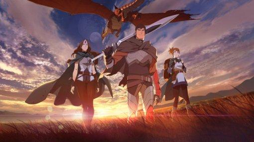 Netflix показал тизер аниме-сериала «DOTA: кровь дракона»