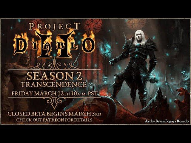 Фанатский ремейк Project Diablo 2 получит второй сезон контента в следующем месяце