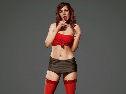 Художник показал реалистичную Лолу Дель Рио— девушку собложки GTA4