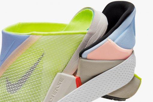 Nike представил новые кроссовки. Их можно обуть без рук