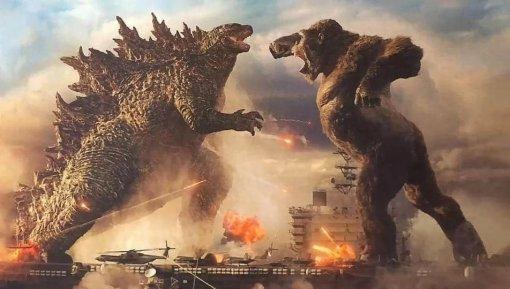 «Годзилла против Конга»: нановом постер титаны готовятся квойне