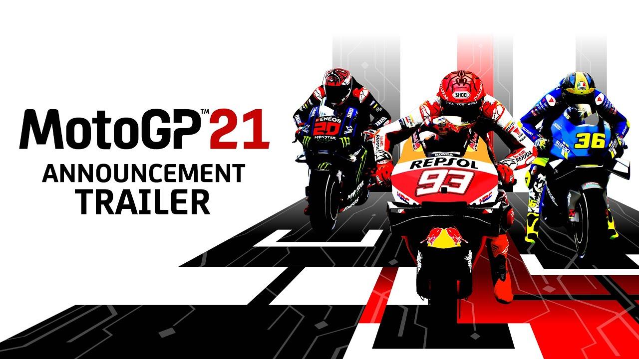 Анонсирована MotoGP 21 для PS5, Xbox Series, PS4, Xbox One, Switch и ПК