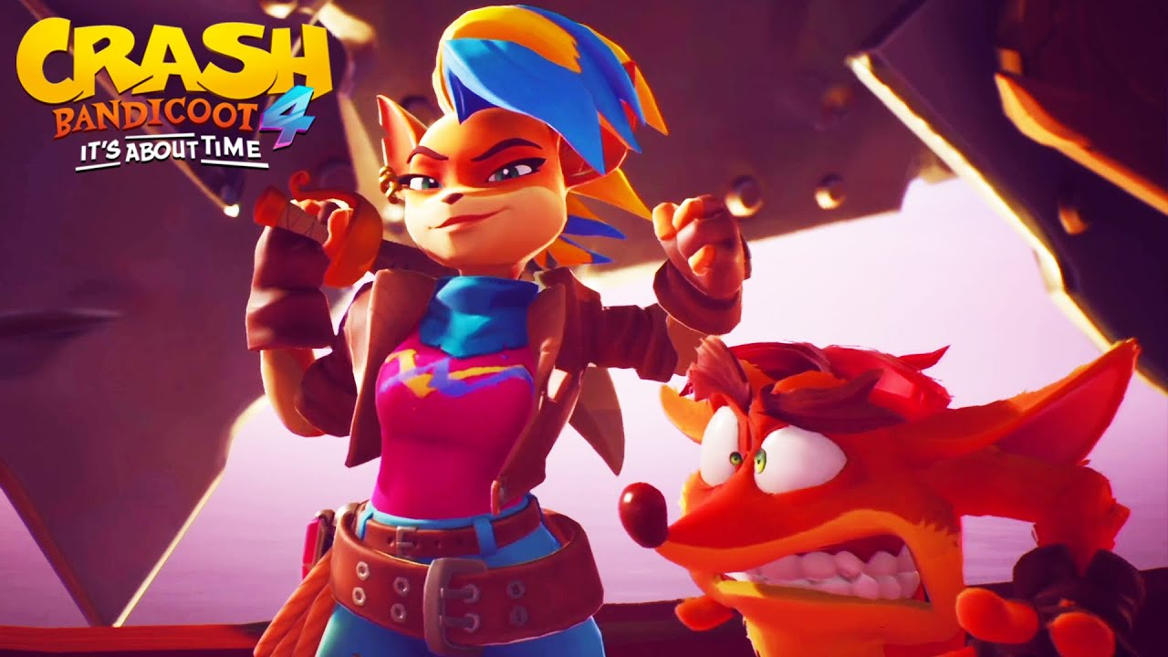 EPMRESS взломала Crash Bandicoot 4: It's About Time
