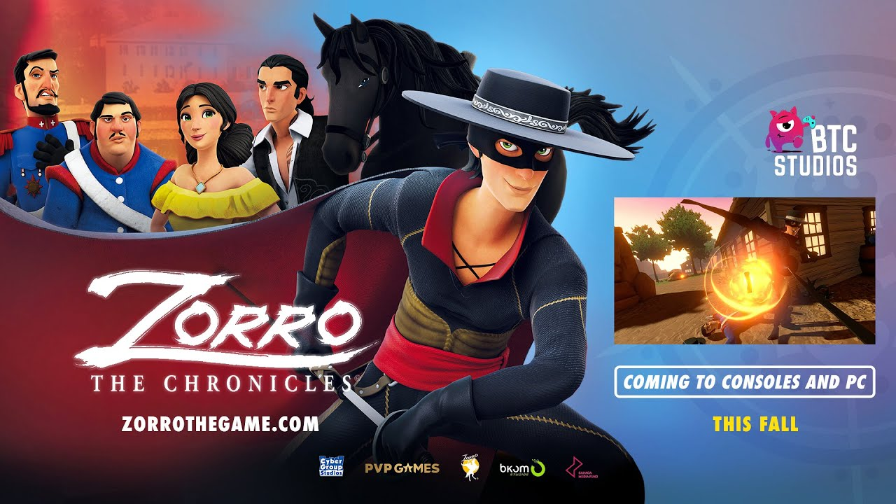 Zorro: The Chronicles анонсированы для PS5, Xbox Series, PS4, Xbox One, Switch, ПК и StadiaSal Romano 3 секунды назад00