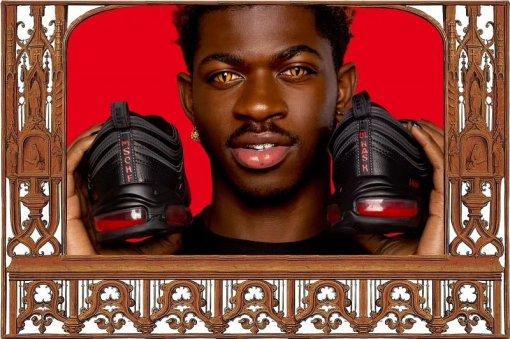 Lil Nas Xпредставил кроссовки Nike счеловеческой кровью— «Обувь Сатаны»