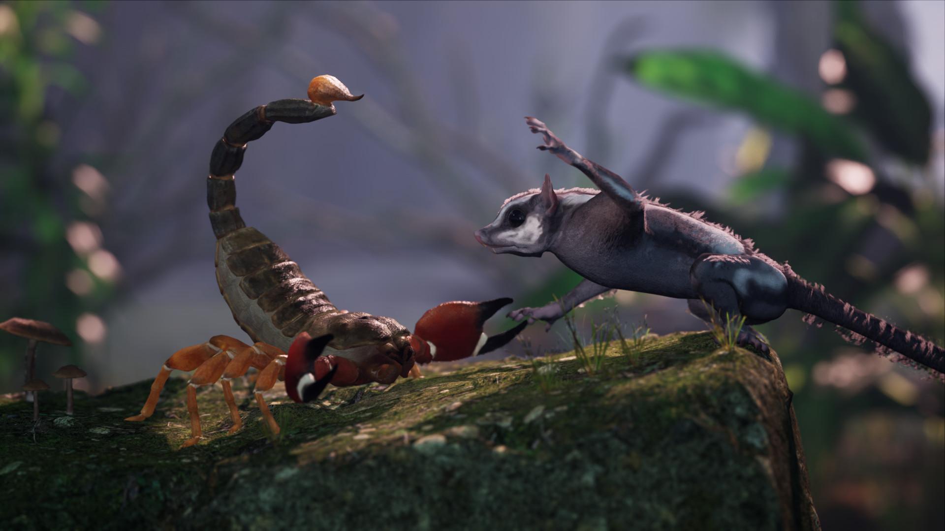Игра AWAY: The Survival Series с белкой-летягой в главной роли также появится и на Xbox One