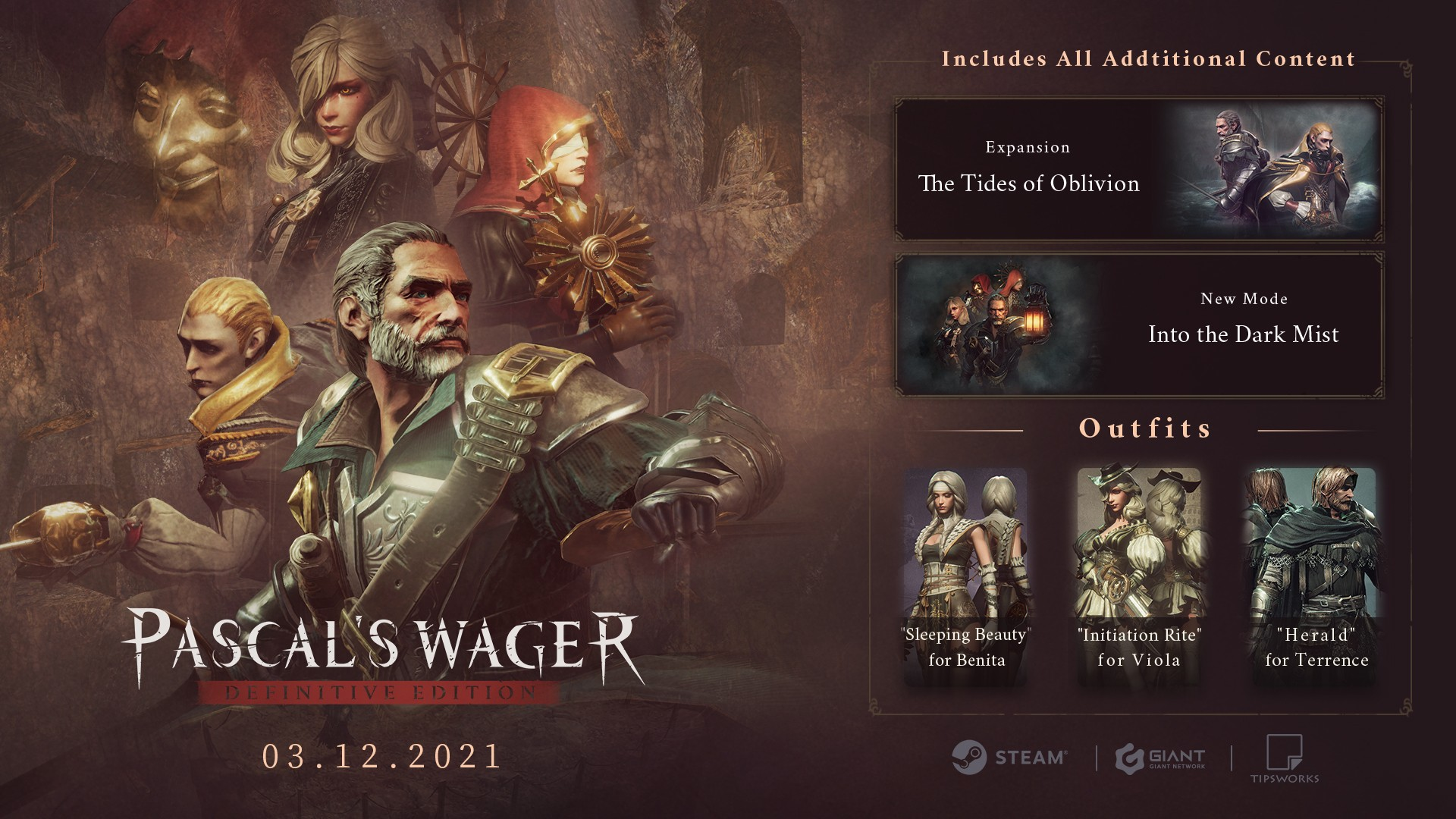 Pascal's Wager вышла в Steam