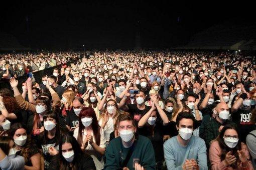 В Барселоне провели концерт для 5000 человек ради COVID-эксперимента