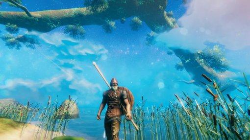 «Это — желание Одина»: игрок в Valheim «превратил» океан в батут
