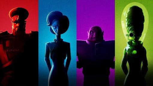 Новый трейлер Evil Genius 2 представил четырех стартовых злодеев