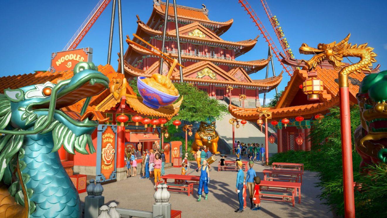 Вышли новые DLC Vintage и World's Fair для Planet Coaster: Console Edition