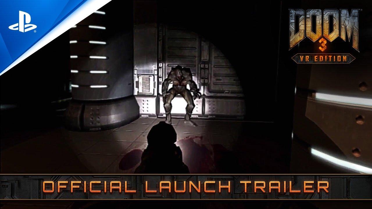 Состоялся релиз DOOM 3: VR Edition для PlayStation VR