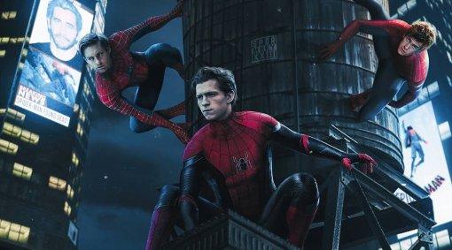 «Человек-паук 3»: официальный Twitter подтвердил появление Тоби Магуайра иЭндрю Гарфилда