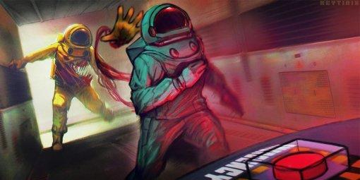 Among Us: аниматор показал пугающий мультик осумасшедшем игроке