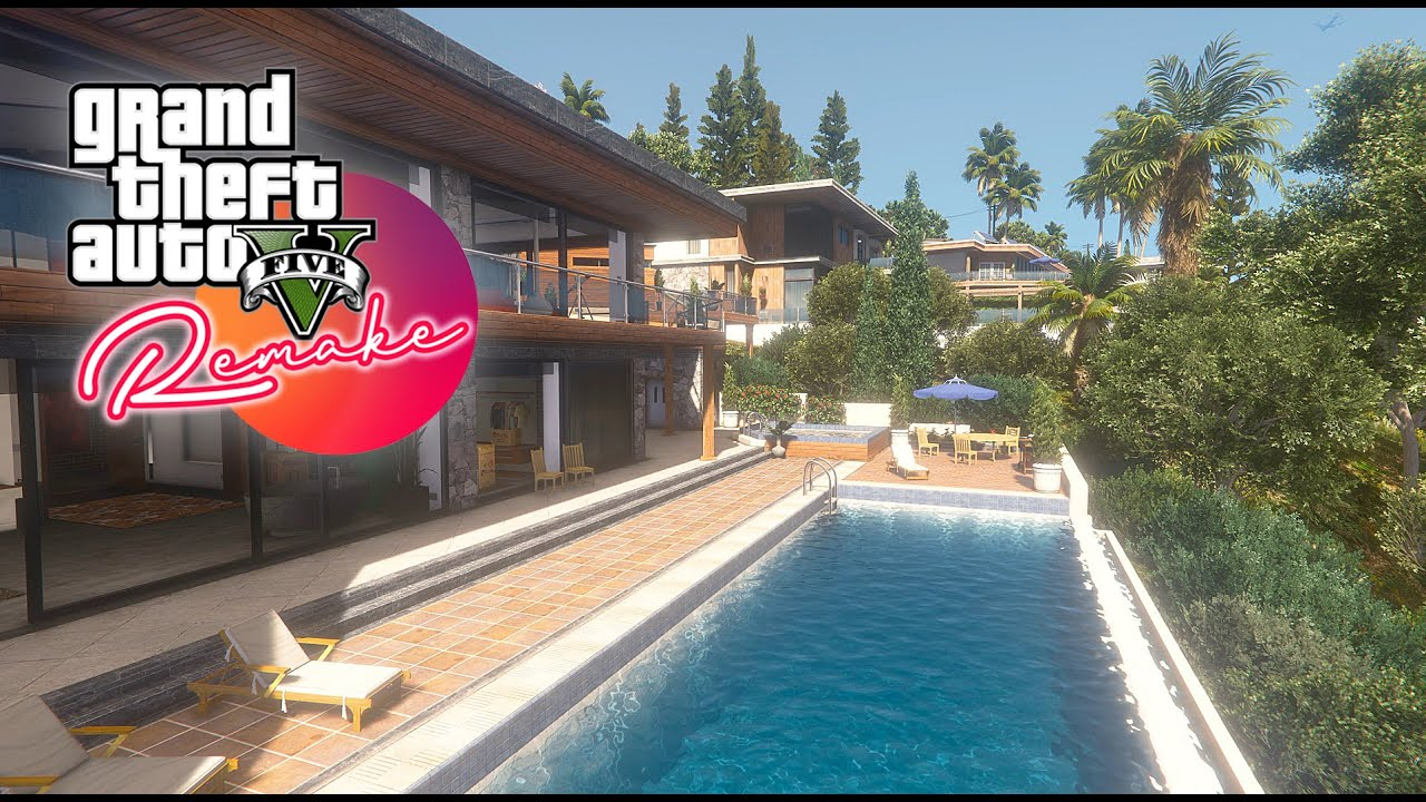 Вышел графический мод Grand Theft Auto 5 Remake