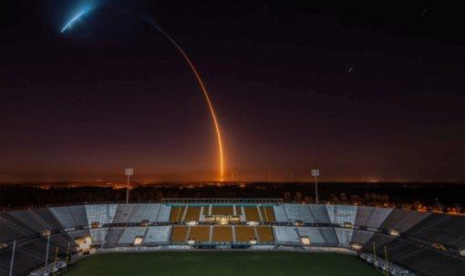 Всоцсетях восхитились красотой полёта ракеты компании Илона Маска