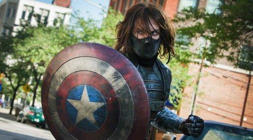 «Сокол иЗимний солдат»: художник показал Баки вкостюме Капитана Америка
