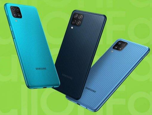 Samsung представила вРоссии бюджетный смартфон Galaxy M12 сбольшой батареей иNFC