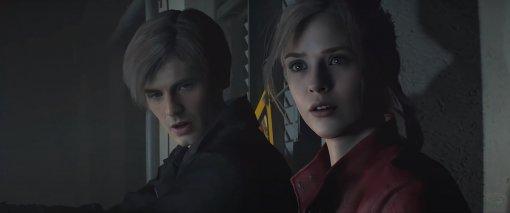 DeepFake: Крис Эванс иЭлизабет Олсен сыграли Леона иКлэр времейке Resident Evil2