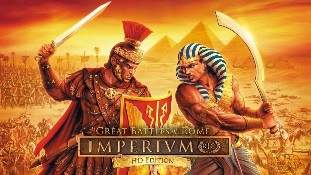 На Kickstarter запустили кампанию для HD издания стратегии Imperivm: Great Battles of Rome