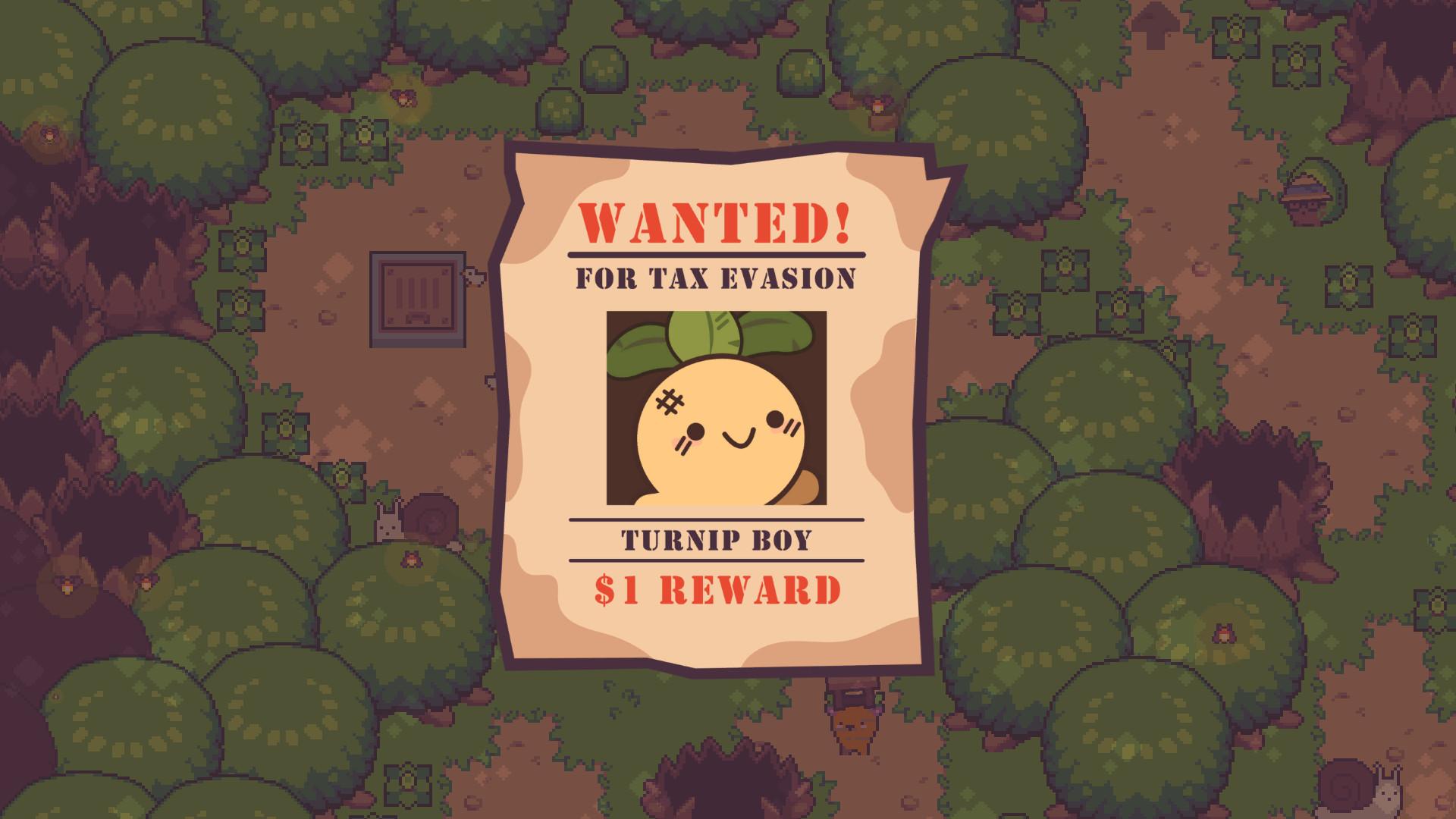 Раскрыта дата выхода олдскульной адвенчуры Turnip Boy Commits Tax Evasion