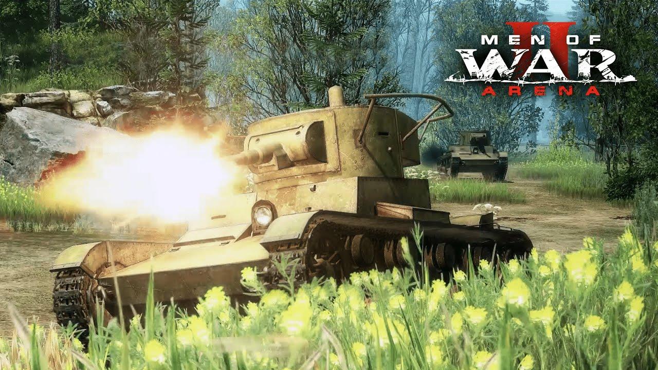 Обновление Men of War 2: Arena новые модели для техники и оружия, реалистичные звуки для минаметов, исправление ошибок