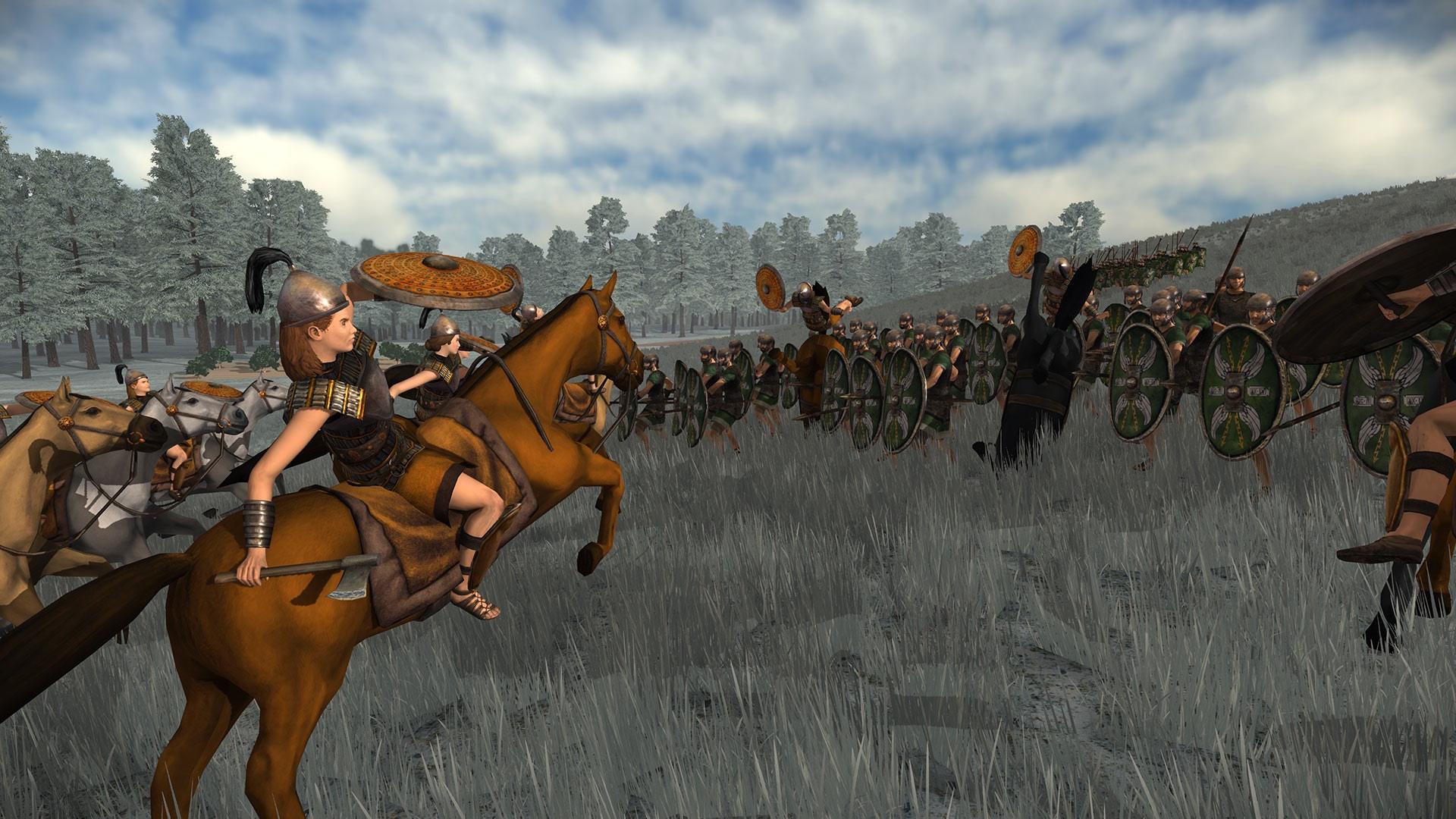 Новые скриншоты Total War: ROME REMASTERED