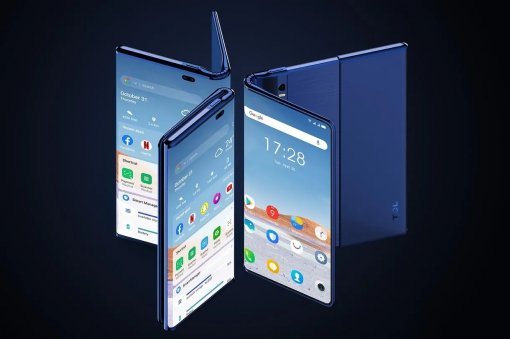 TCL показала сгибающийся искладной смартфон Fold'n'Roll