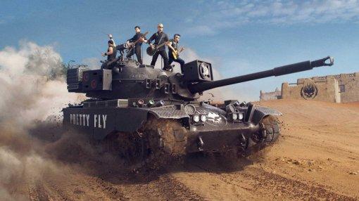 В World of Tanks отметили релиз нового альбома The Offspring