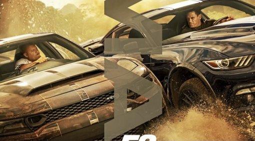Вин Дизель и Джон Сина борются на новом постере «Форсажа9»