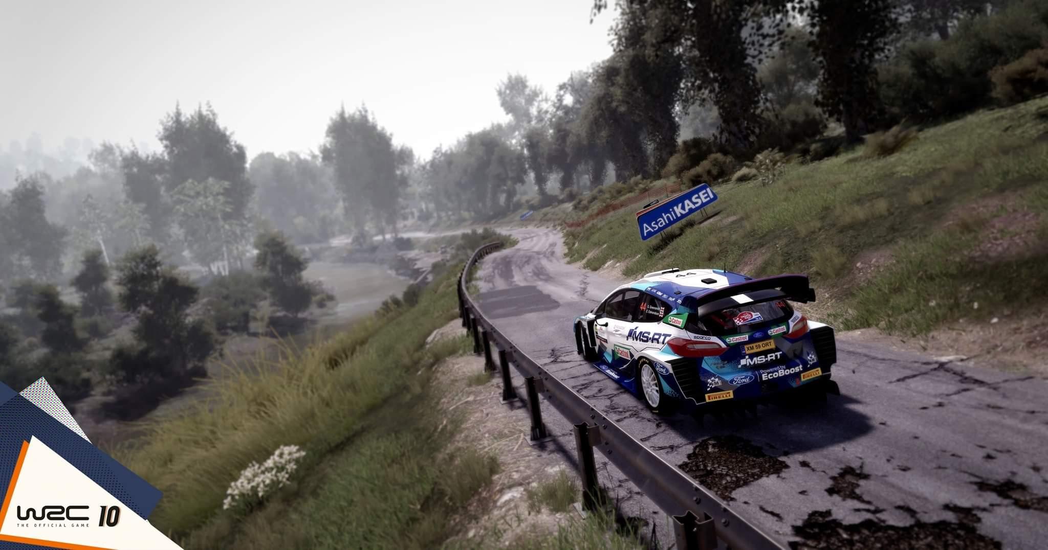 WRC 10 - Физика автомобилей будет доработана